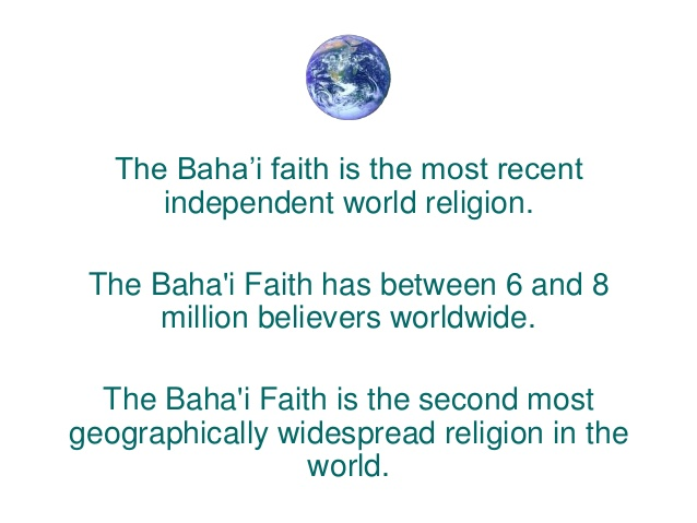 the baha`i faith essay Conservation and sustainable development in the baha'i faith close to one million copies of statements and concept papers written by the baha'i­ international.